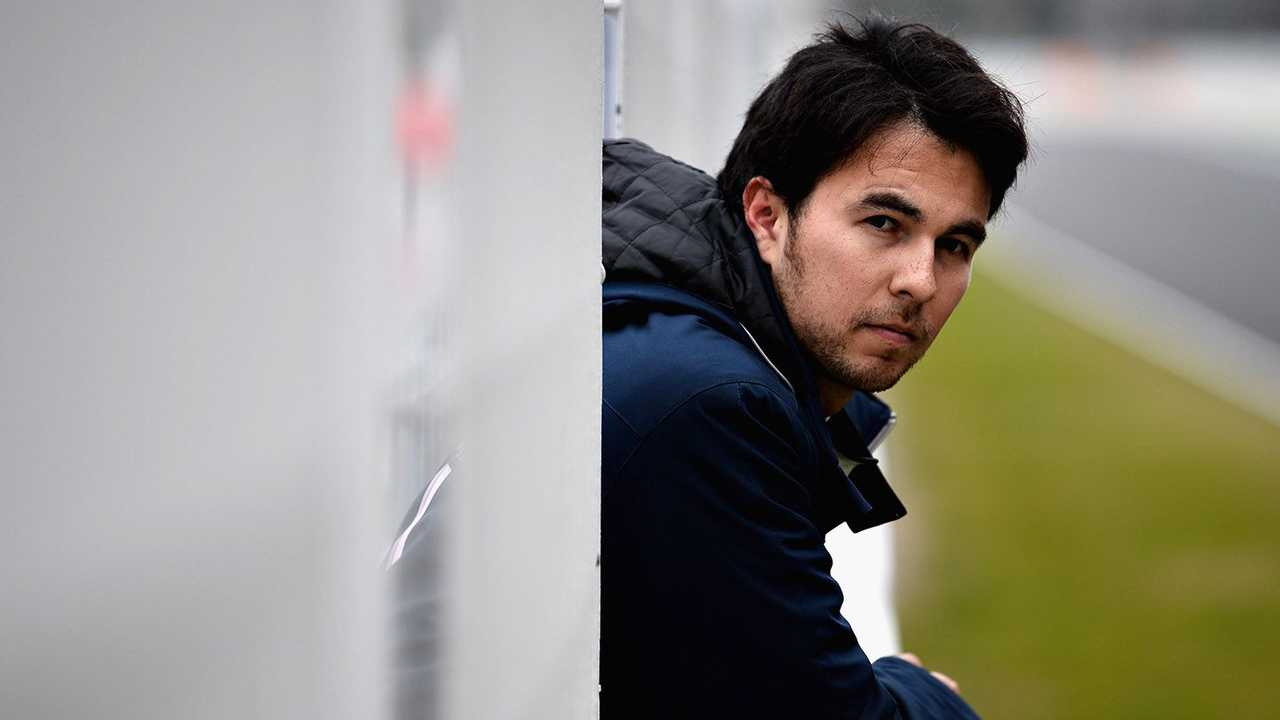 Sergio Perez with Red Bull taken 21.01.2021