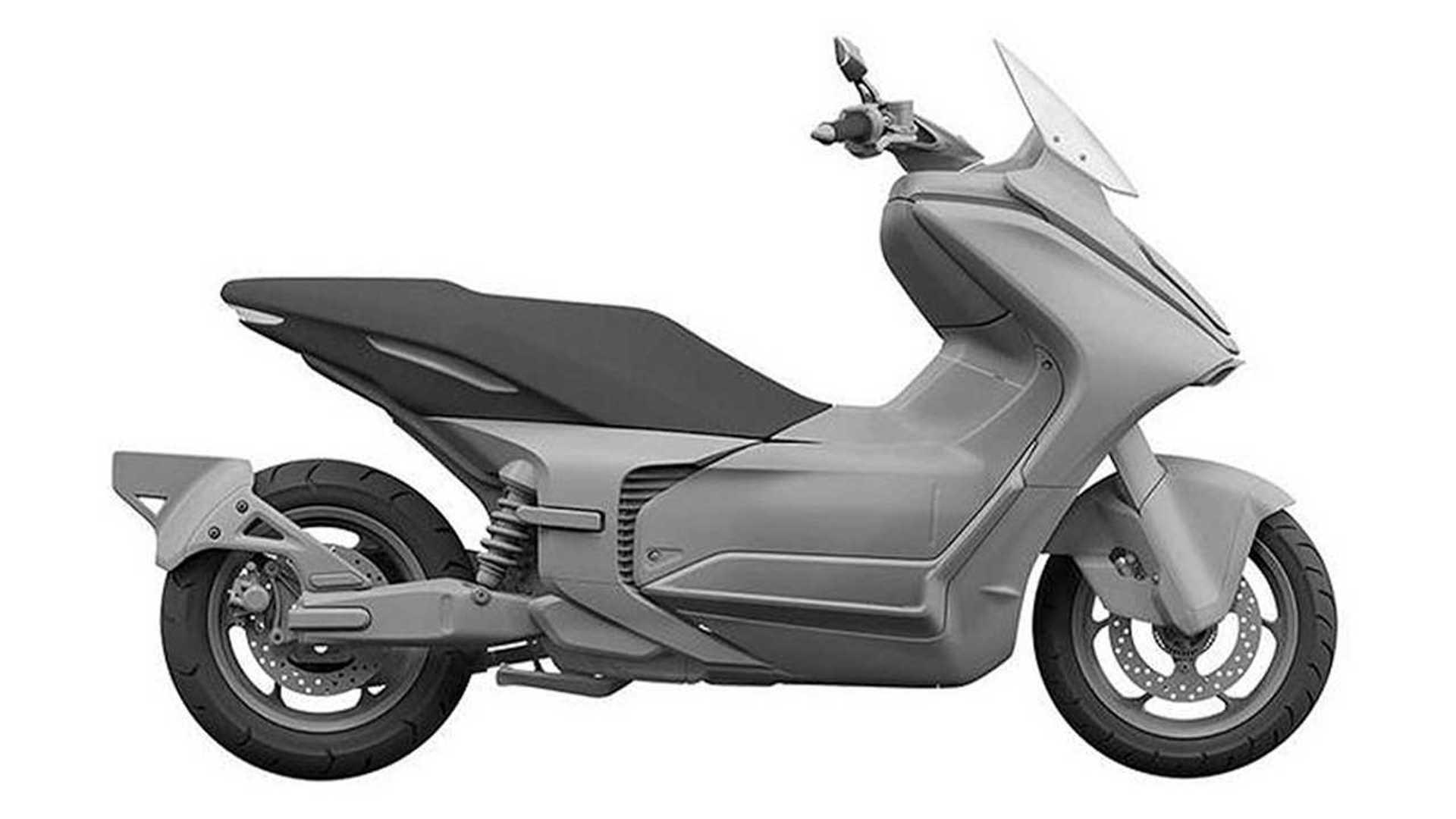 Yamaha E01 Concept - Side, Right