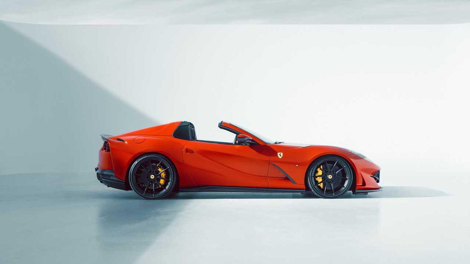 Check Out Novitec's Variation On The Ferrari 812 GTS - Motor1