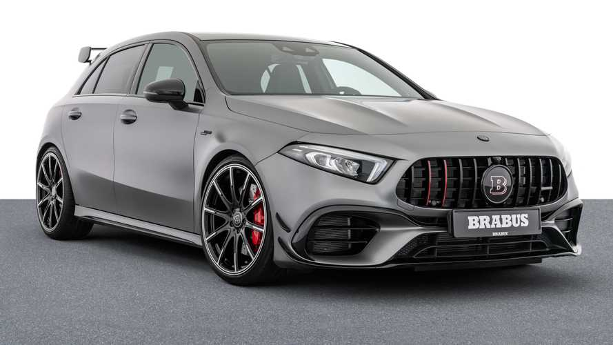 Brabus B45 turns the Mercedes-AMG A45 S into a hyper hatch with 444 bhp