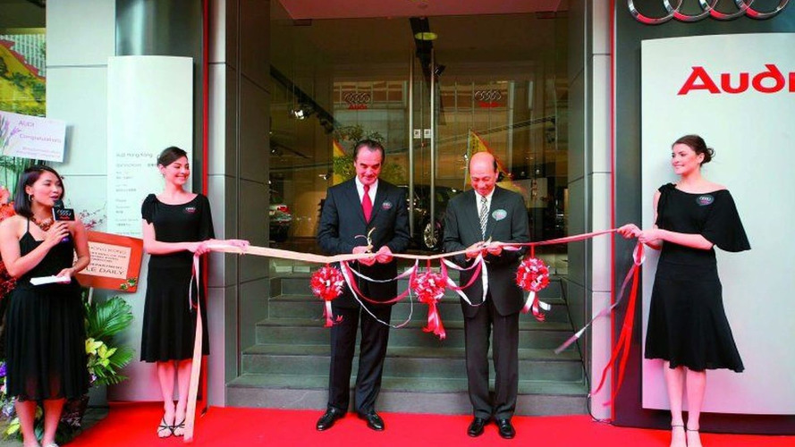Audi Opens Hong Kong's Largest showroom