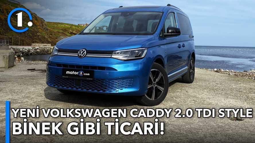 2021 Volkswagen Caddy 2.0 TDI DSG Style | Neden Almalı?