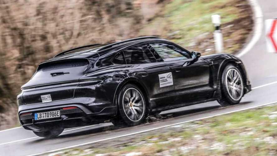 Porsche Taycan Cross Turismo: Teaservideo und Neues zum Fahrwerk