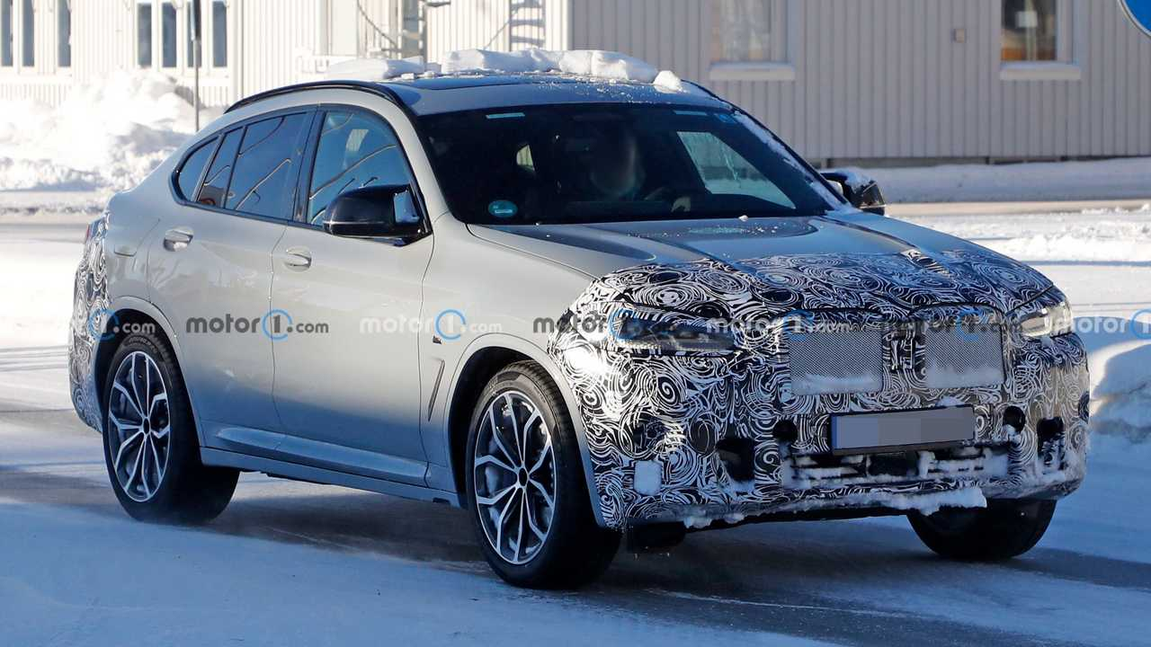 An updated BMW X4 crossover is coming for 2022 and this prototype shows some of the changes.