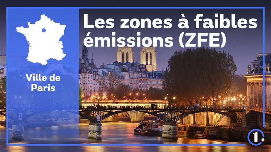 ZFE Paris - Véhicules autorisés, amendes, restrictions...