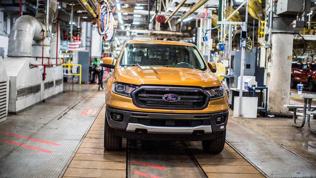 Ford Ranger - Produção Estados Unidos