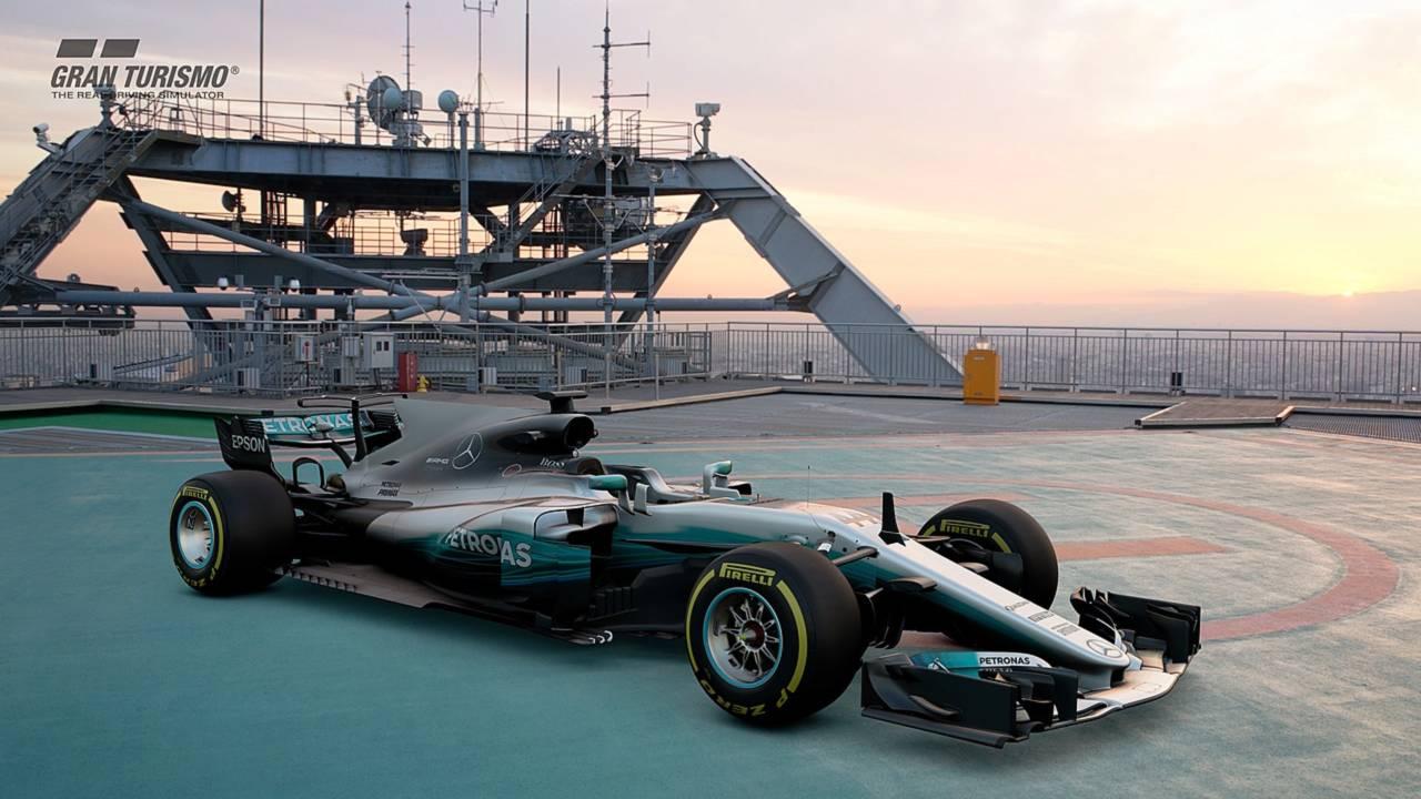 gran turismo sport july update adds mercedes f1 car new track. Black Bedroom Furniture Sets. Home Design Ideas