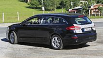 Ford Mondeo Wagon facelift spy photo