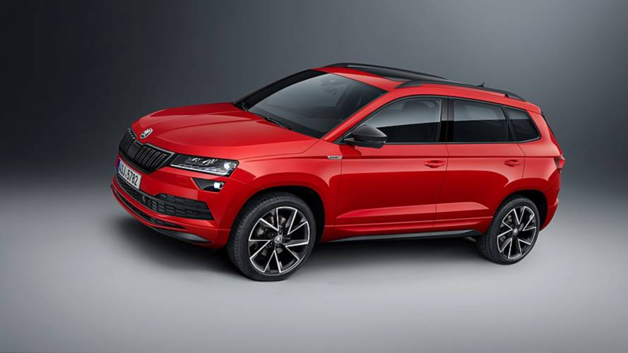 Skoda Karoq Sportline revealed with more powerful petrol engine