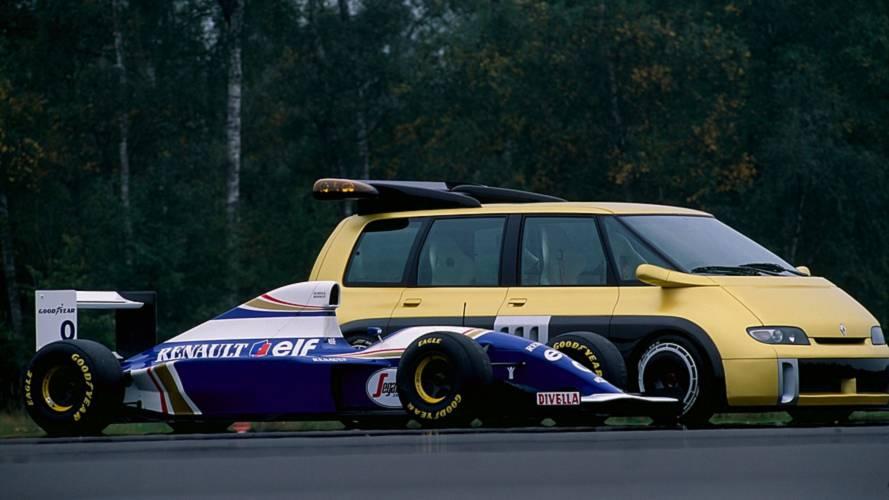 Conceitos esquecidos: Renault Espace F1 era minivan com motor V10 da Williams