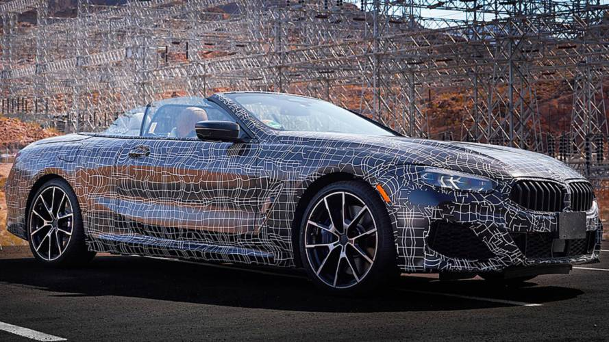 BMW Teases 8 Series Convertible Soaking Up Sun In Desert Testing