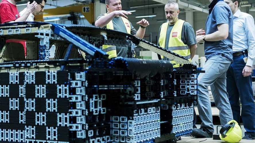 6 coches de Lego a escala 1:1, auténticas obras de arte