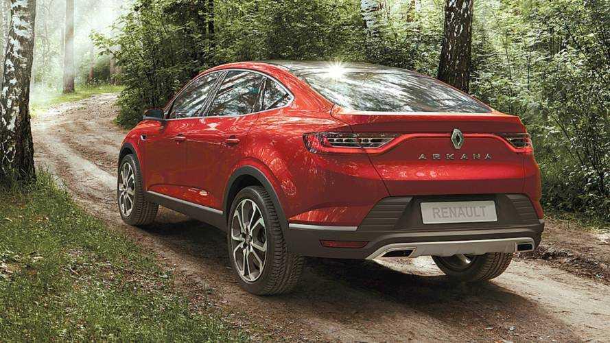 Renault Arkana 2019: los SUV coupés llegan a los generalistas