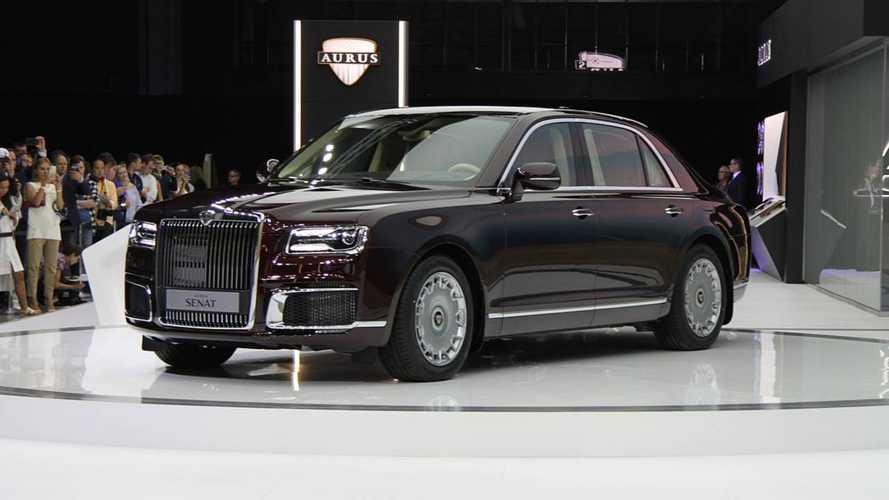 Автомобили Aurus могут не пустить в Европу из-за названия