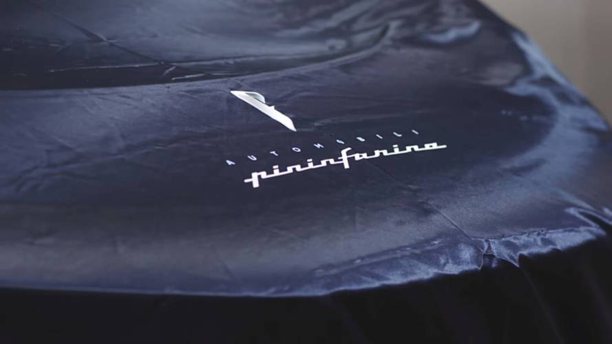 Pininfarina teases PF0 electric hypercar under cover