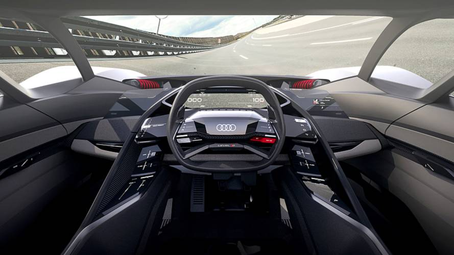 Audi Pb18 Concept Imagines 671 Hp Driver Focused Ev Supercar