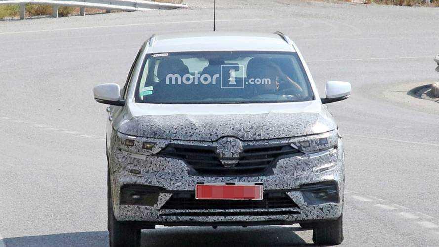 Renault Koleos reestilizado - Flagra