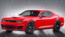 Nuova Dodge Challenger, il rendering