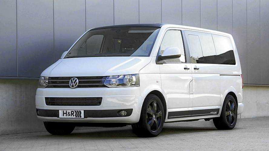 H&R: Gewindefedern für den VW Bus