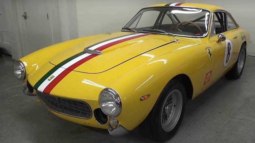David Lee's Ferrari F12tdf and 250 Lusso Competizione