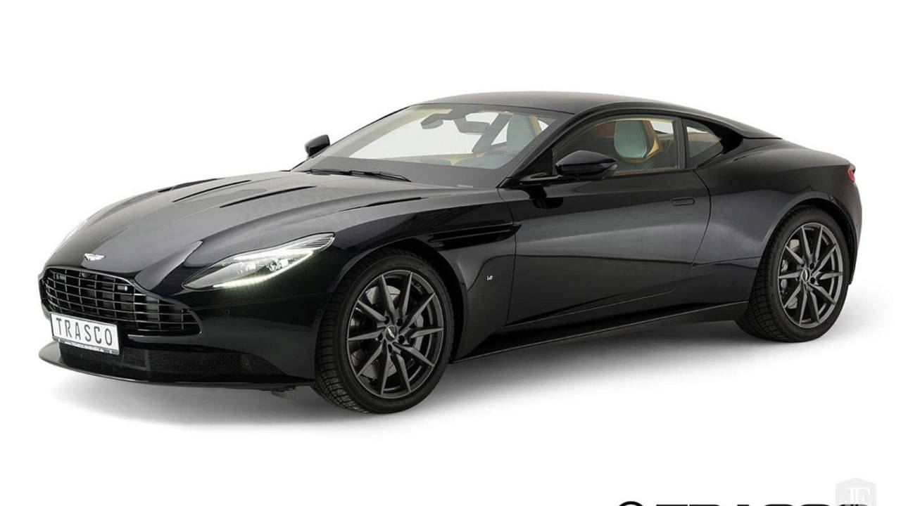 Armored Aston Martin DB11
