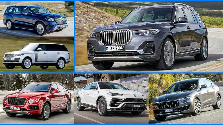 Слайд-шоу: новый BMW X7 и его конкуренты
