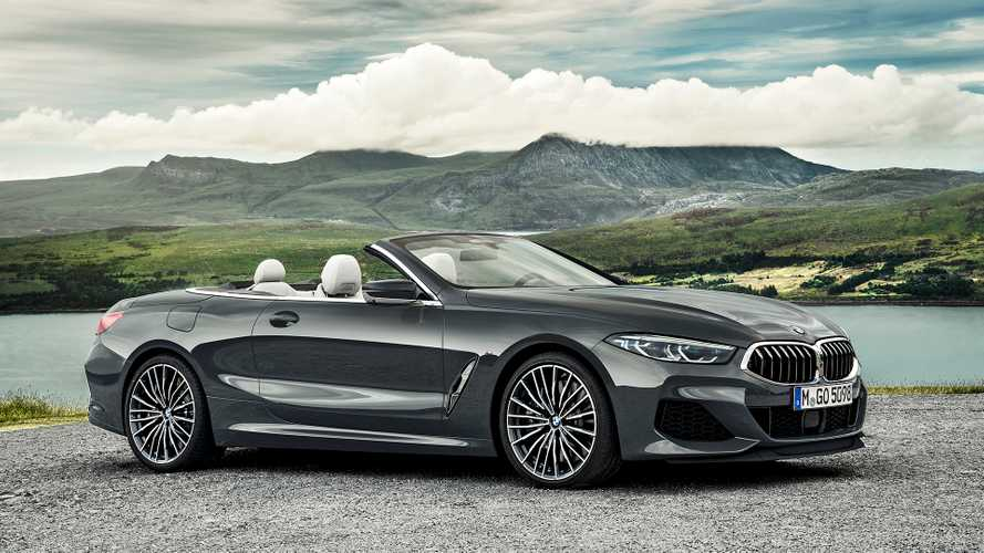 2019 BMW 8 Series Convertible Loses Its Roof, Still Looks Lovely