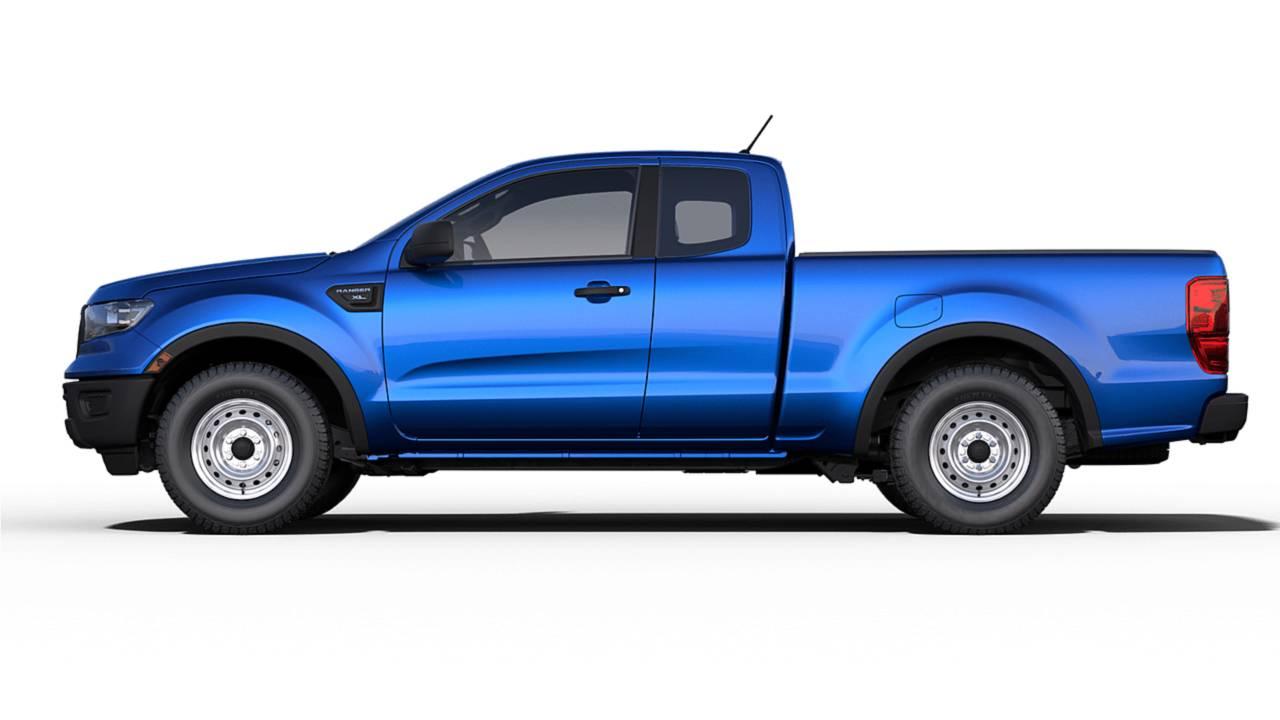 2019 Ford Ranger Configurator