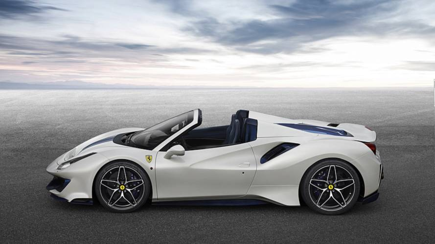 Ferrari nous montre la 488 Pista Spider en action