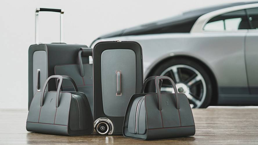The £29,000 luggage collection designed to match your Rolls-Royce