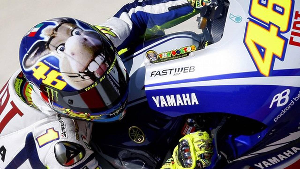 A Motegi gas mask for Valentino Rossi