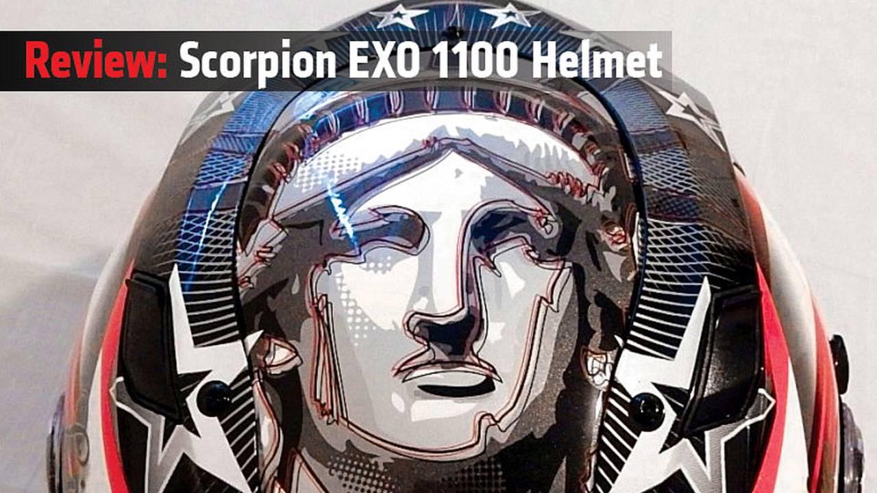 Review: Scorpion EXO 1100 Helmet