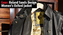 gear roland sands design womens oxford jacket
