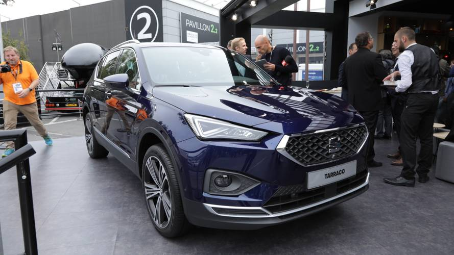 SEAT Tarraco Arrives In Paris As Company's Biggest Model Ever
