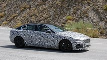 Jaguar XE Facelift Spy Photo