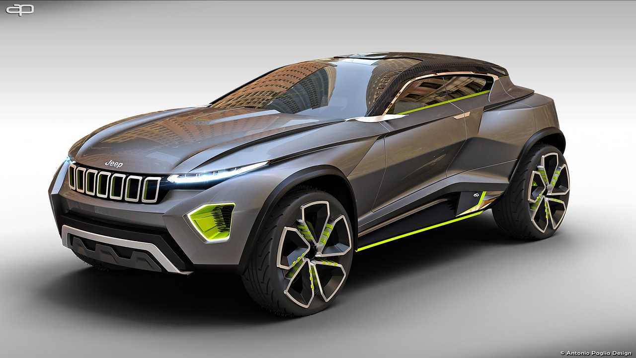 Jeep Freedom konsepti render