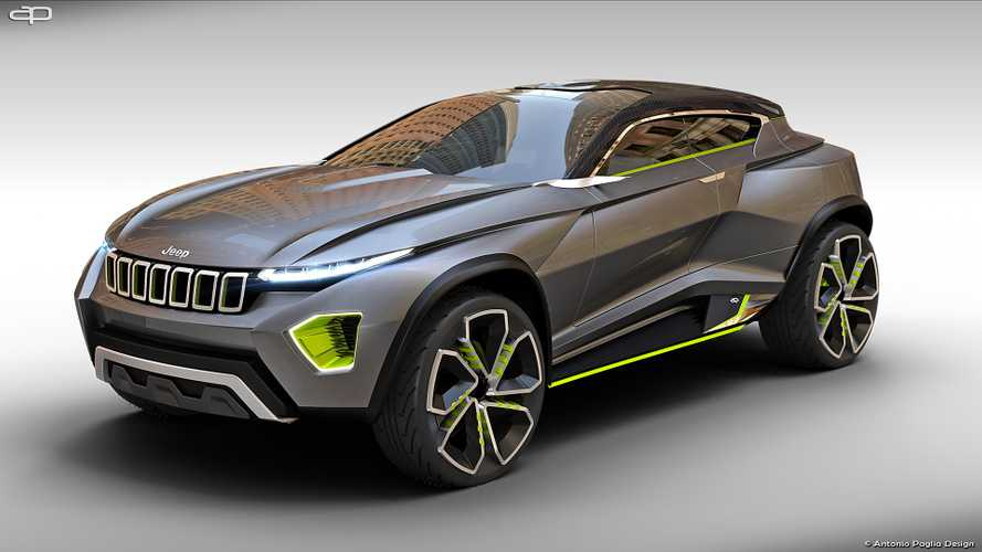 Jeep Concept Freedom fan render could pass for the real deal