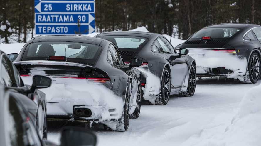 2020 Porsche 911 is completing final testing