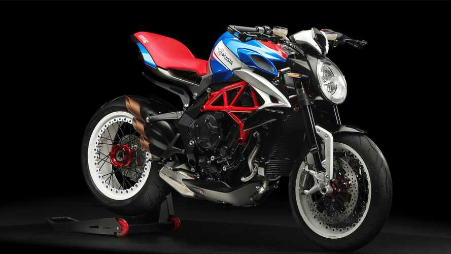 "MV Agusta Announces ""America"" Edition Of The Dragster 800 RR"