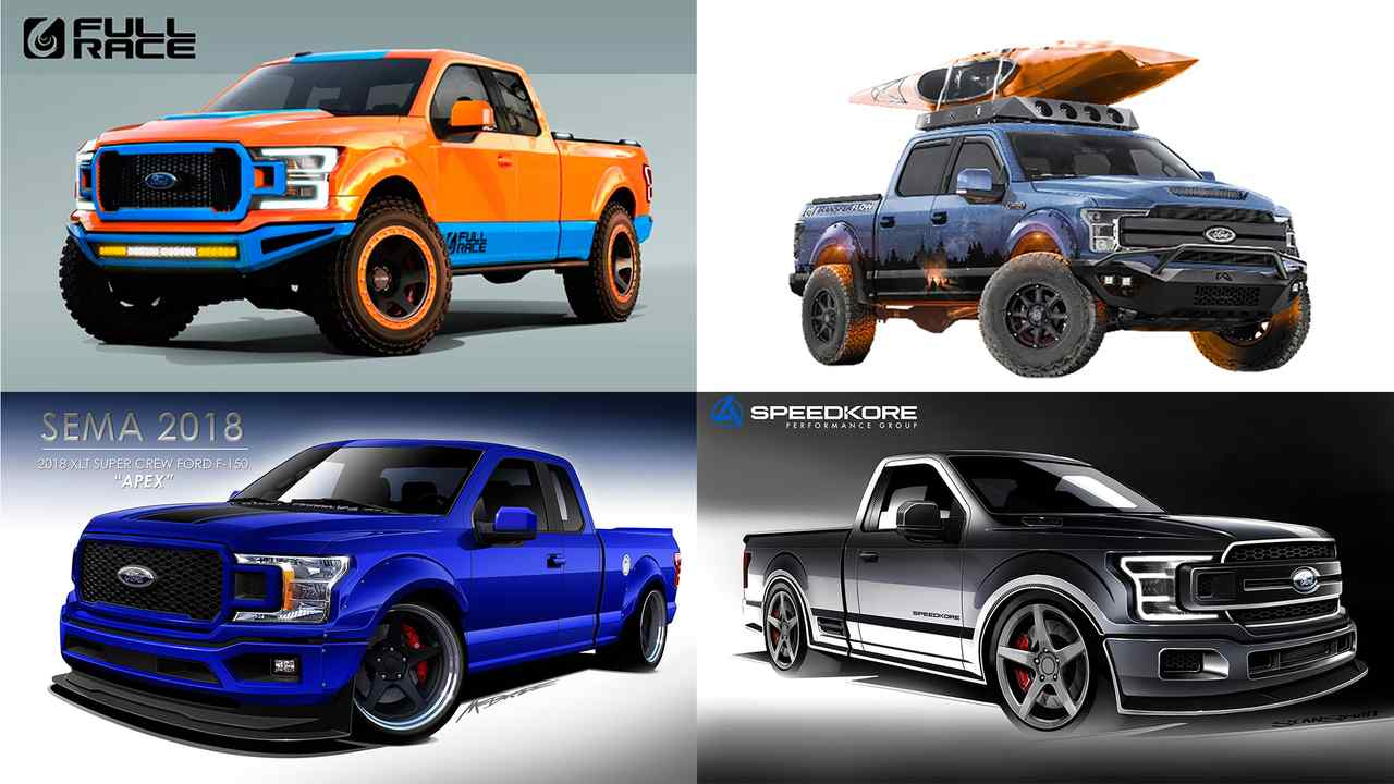 The Ford F Series in many flavors