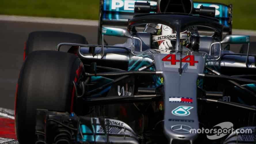 Mercedes had to protect overheating engine in Mexican GP practice