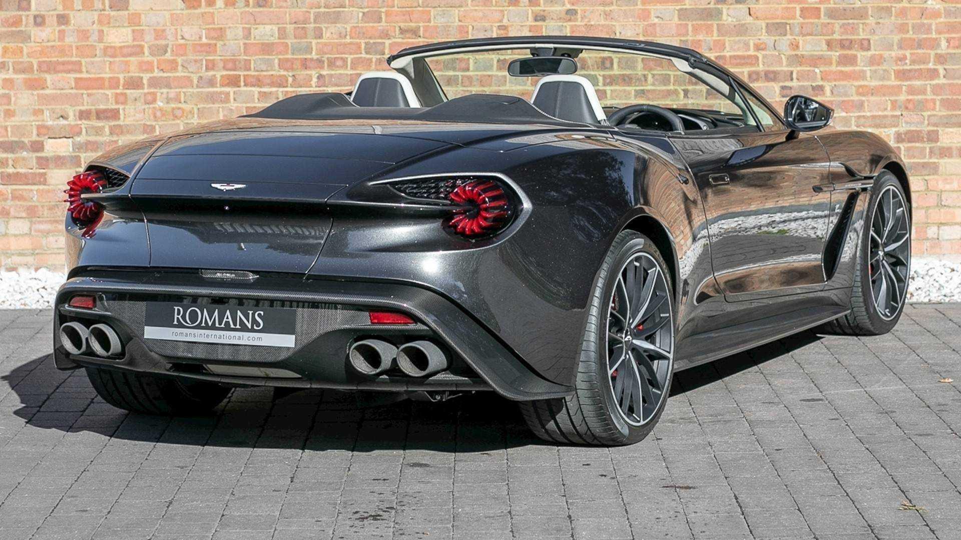 A La Venta Un Aston Martin Vanquish Zagato Volante Una Pieza Codiciada