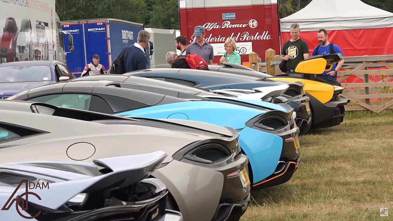 Aparcamiento público Goodwood 2018