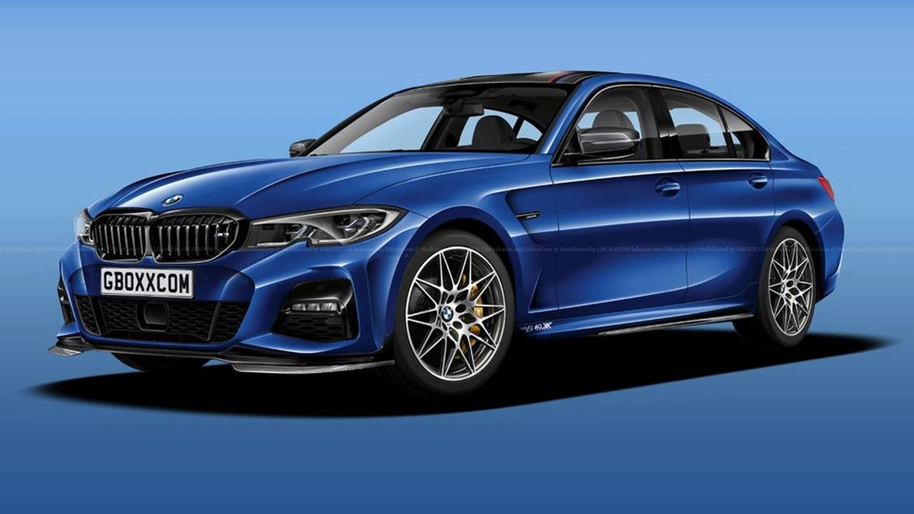 Next-generation BMW M3 render