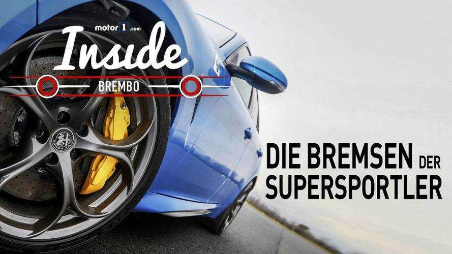 Brembo, wo die Bremsen der Supercars geboren werden