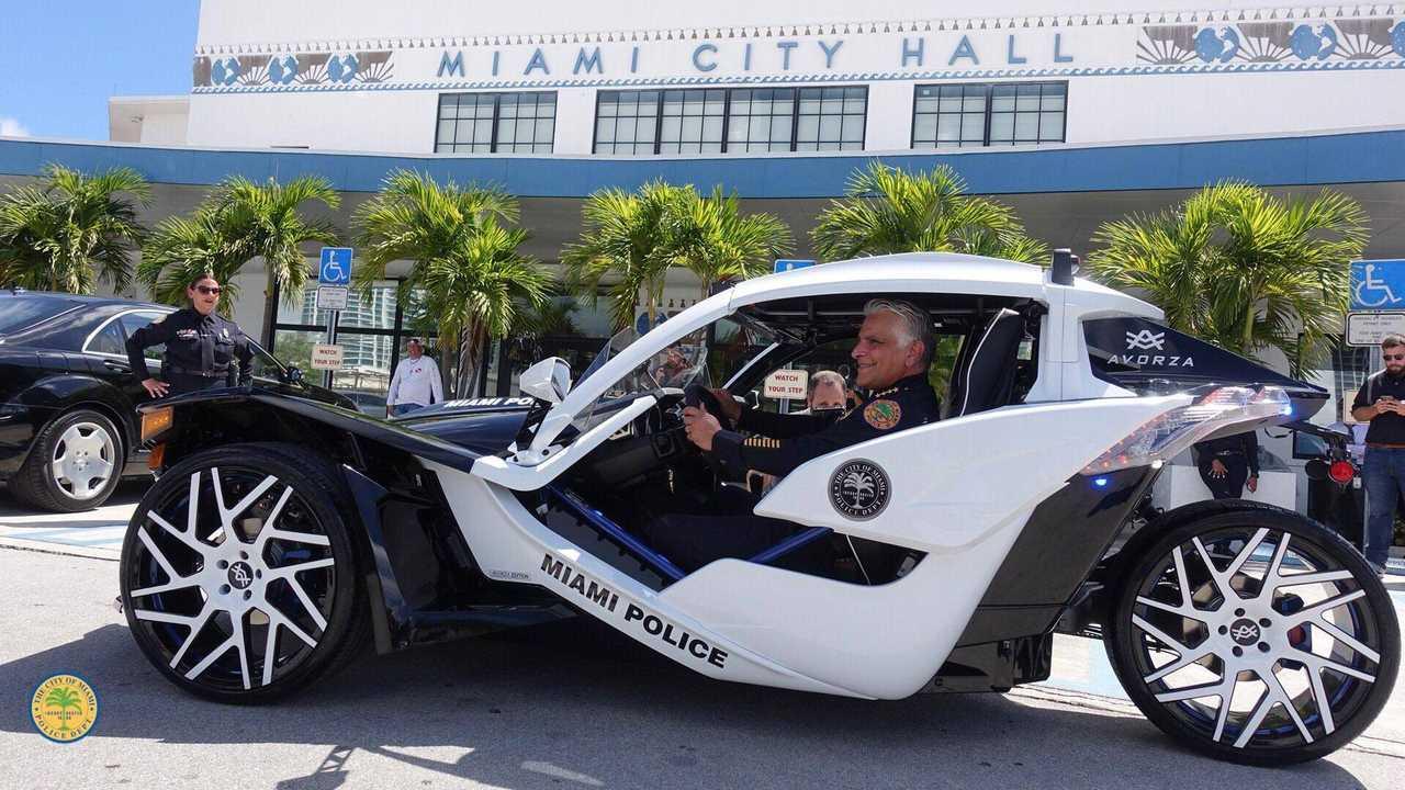 Miami Police Polaris Slingshot