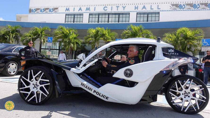 Polaris Slingshot Joins Miami PD, Will Cruise South Beach Soon
