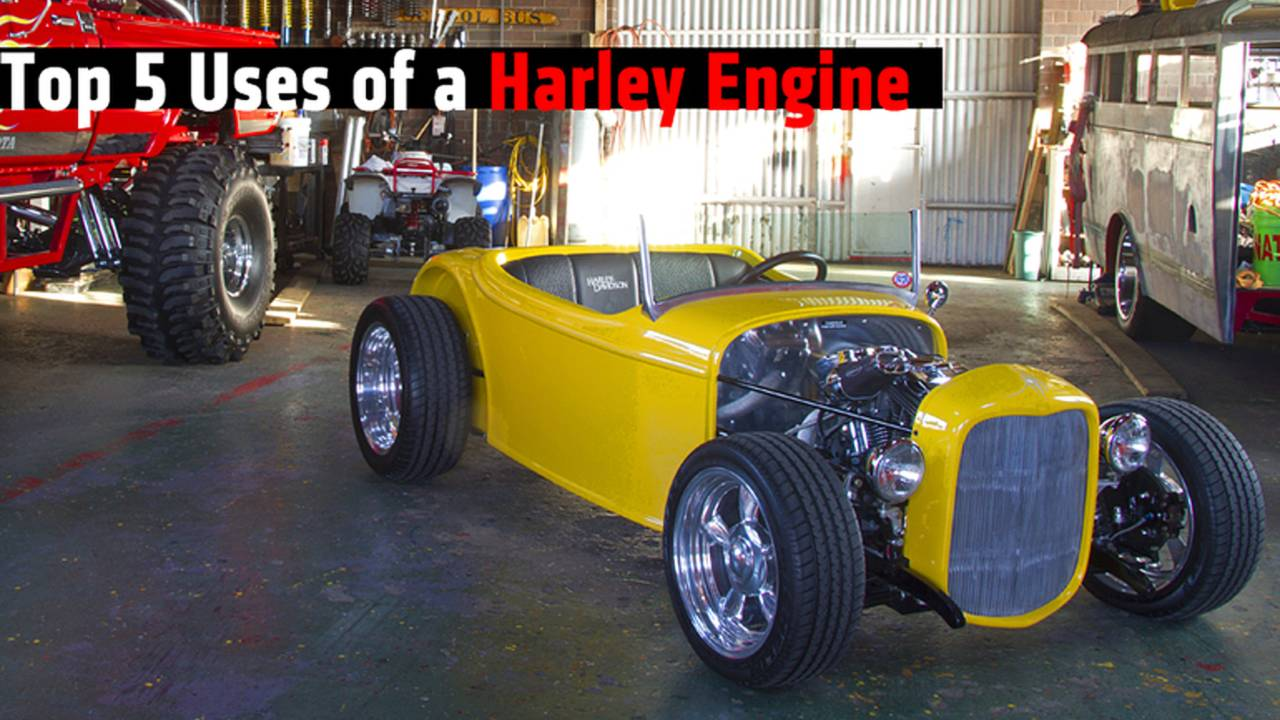 Top 5 Uses of a Harley Engine