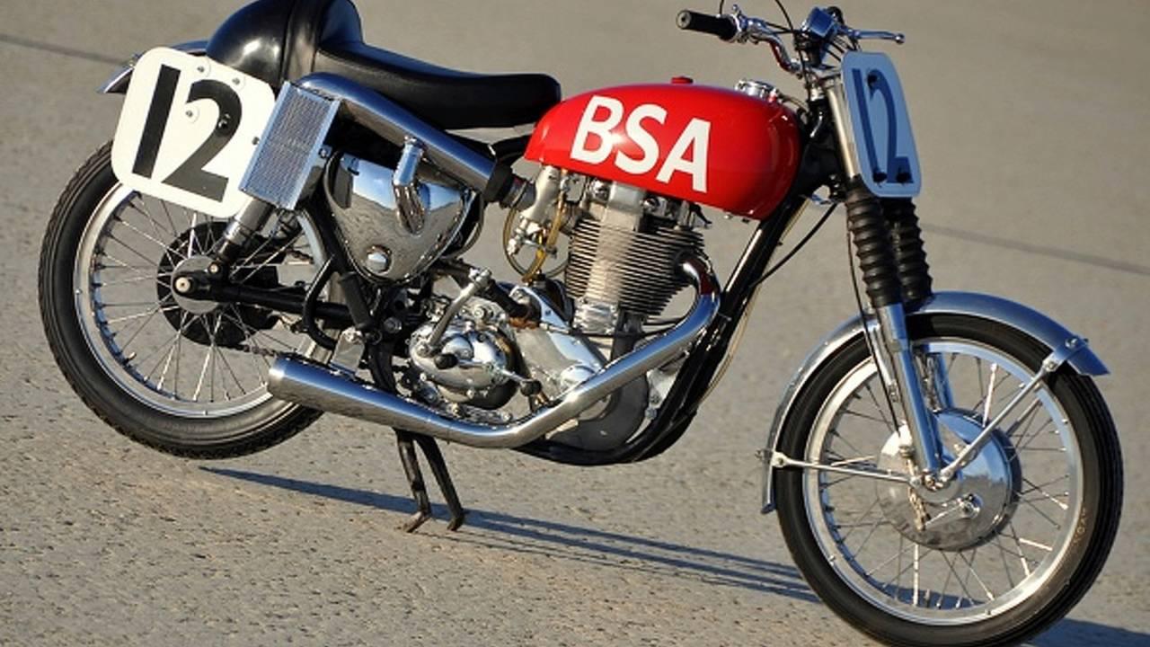 The BSA Gold Star that conquered Daytona Beach