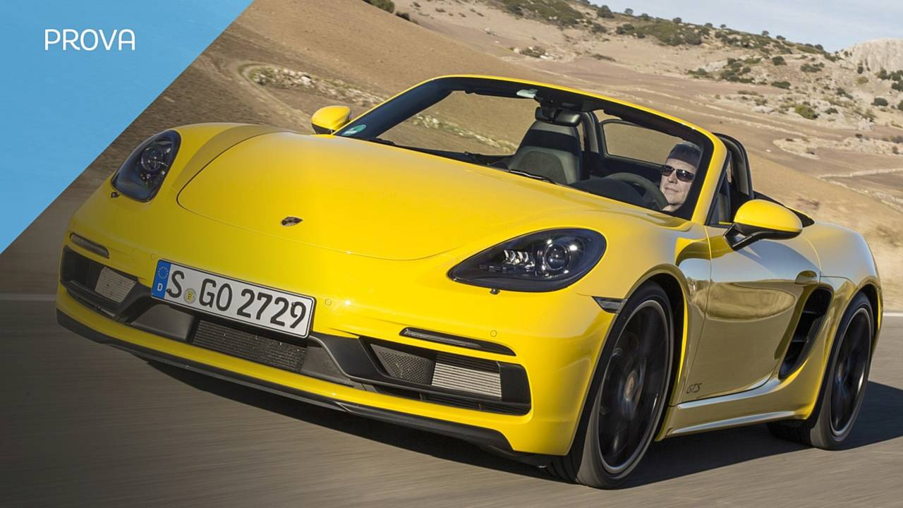 Porsche 718 gts boxster cover